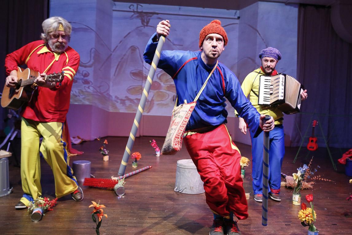 Itze Grünzweig, Sven Kaschte, Raoul Biltgen | Alltag | Plaisiranstalt | © Foto: Barbara Pálffy